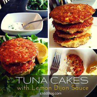 Tuna Cakes with Lemon Dijon Sauce