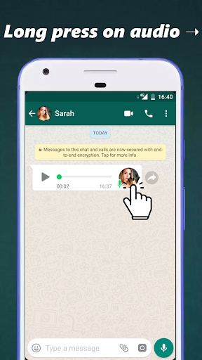 Audio to Text for WhatsApp 3.2.1 screenshots 1