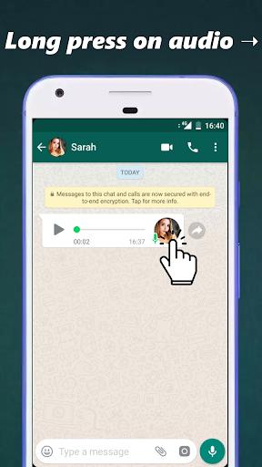 Audio to Text for WhatsApp 3.3 screenshots 1