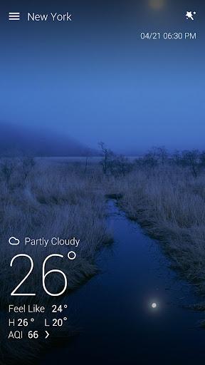 GO Weather Forecast & Widgets screenshot 1
