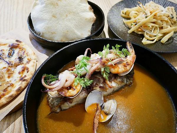 YATS葉子 Stay to eat-新竹東區義式餐廳 環境舒適、餐點精緻 雙人分享餐很值得嚐試 約會聚餐都適合