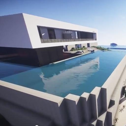 Minecraftのビルのチュートリアル 冒險 LOGO-玩APPs
