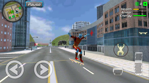 Snow Storm Superhero apktram screenshots 23