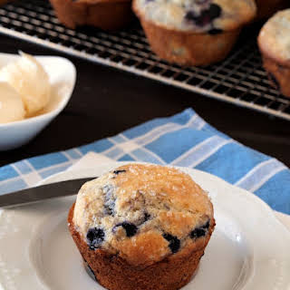 "Gluten Free Blueberry Muffins {America's Test Kitchen ""The How Can it Be Gluten Free Cookbook"" Review}."