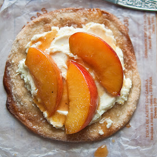 Spiced Citrus Amaretto Peaches