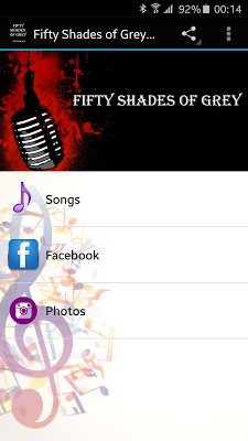 Fifty Shades of Grey Songs - screenshot