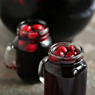 Cranberry Sangria aka Devil's Sangria