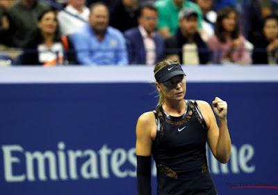 Sharapova zet opmars verder en haalt halve finale