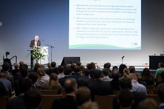 Photo: In the featured presentation Gerard van Raalte talks about adaptive environmental management...