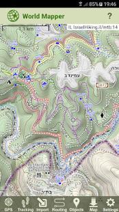 World Mapper - náhled