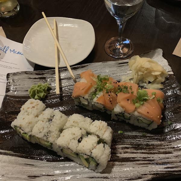 Yummy GF sushi!