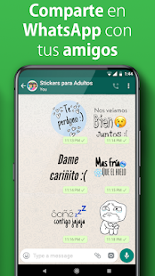 Sticker para Adultos WASticker 2019 Screenshot