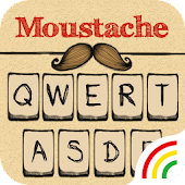 Mustache Theme - Keyboard Theme for Android FREE