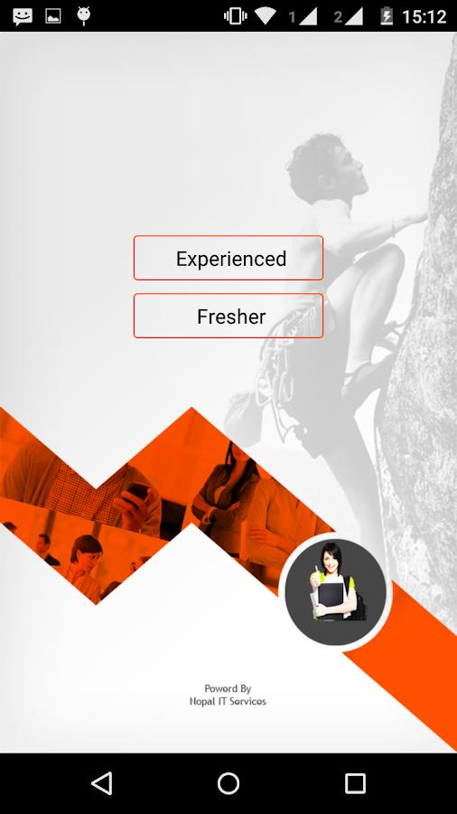 quick resume screenshot
