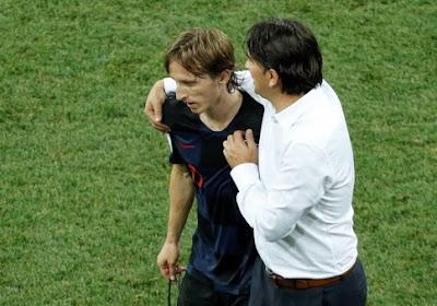 Le Croate Luka Modric s'en prend à la presse anglaise