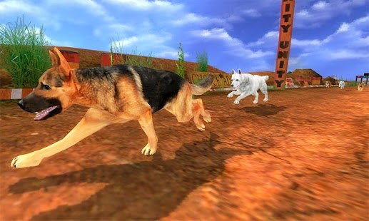 Real Dog Racing Games - náhled