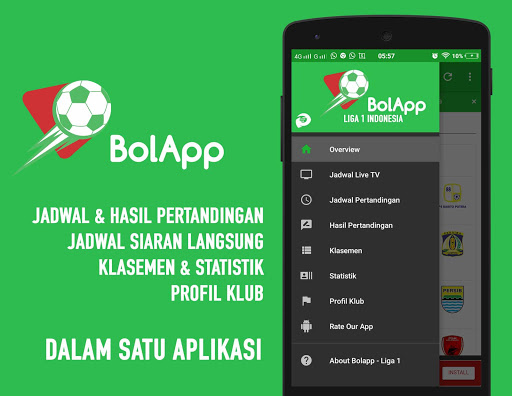 BolApp - Liga Indonesia / Gojek Traveloka Liga 1 2.5 screenshots 2