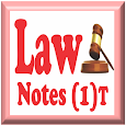 Law Notes - 1 (Introductory) apk