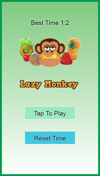 Lazy Monkey- screenshot