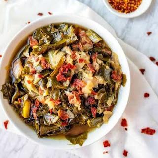 Slow Cooker Collard Greens Recipe