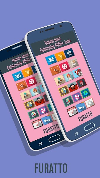 Furatto Icon Pack v2.0.0