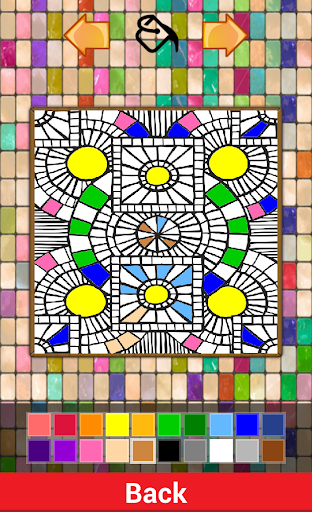 Coloring Mozaik