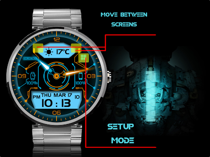 Galactica Watch screenshot