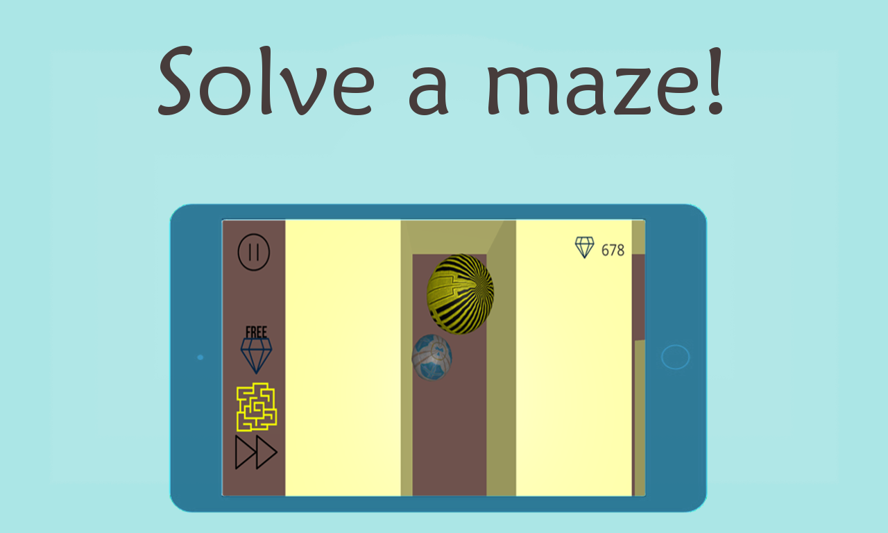 Maze Game: Cube- screenshot