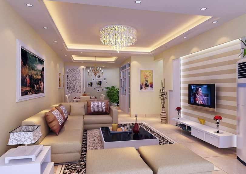 Gypsum Ceiling Design Ideas Screenshot