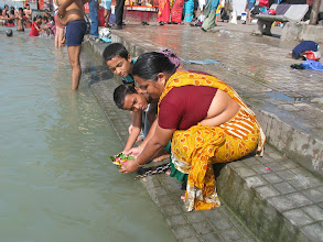 Photo: Ganga pooja