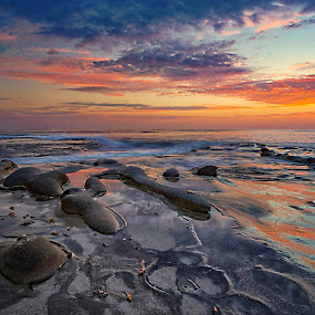 La Jolla Sunset IV by Michael Otter - Landscapes Sunsets & Sunrises