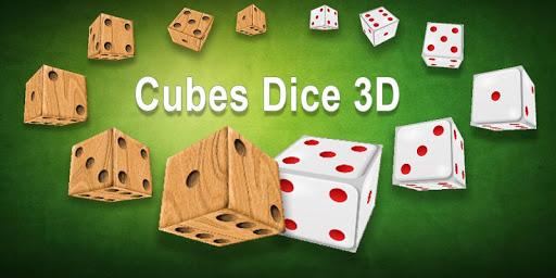 Cubes Dice 3D
