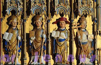 Photo: Figuren im Altar St. Jürgen