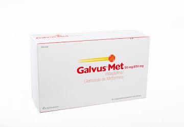 GALVUS MET 50/850MG   TABLETAS CJ X 56 TAB NOVARTIS VILDAGLIPTINA