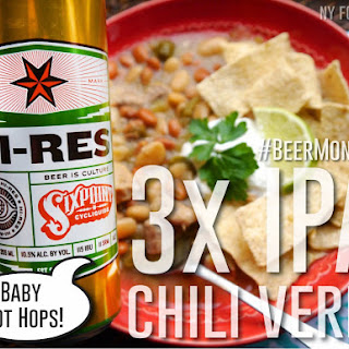 Triple IPA Chili Verde with Pork #BeerMonth