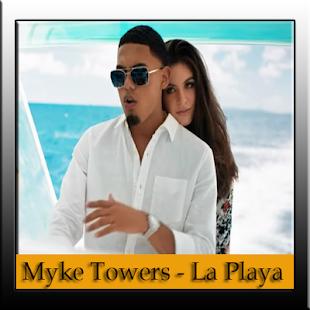 myke towers la playa letra