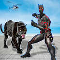 Multi Panther Hero Crime City Battle icon