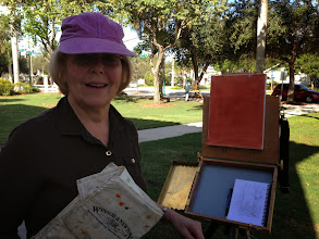 Photo: Elaine McCombs at Old Schhol Square 12-19-13