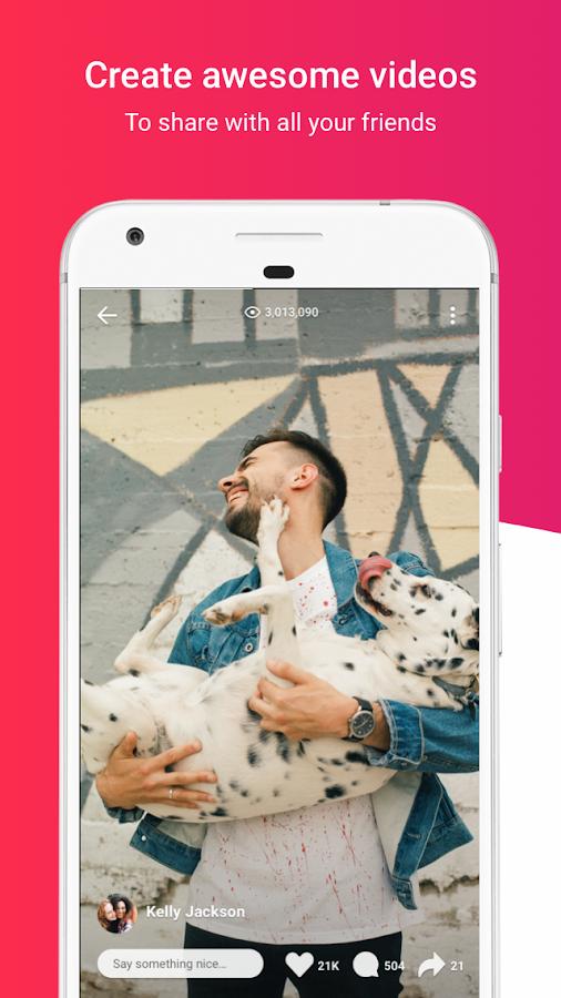 Flipagram: Erzählen Sie Ihre Geschichte android apps download