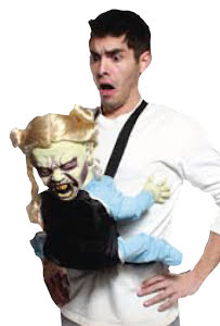 Babysele med demonbaby, flicka