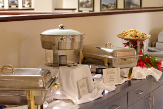 Photo: Let's eat already... the Mercantile Capital Corporation team and our guests are hungry! www.504Blog.com