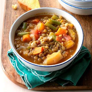 Vegetable Lentil Soup.