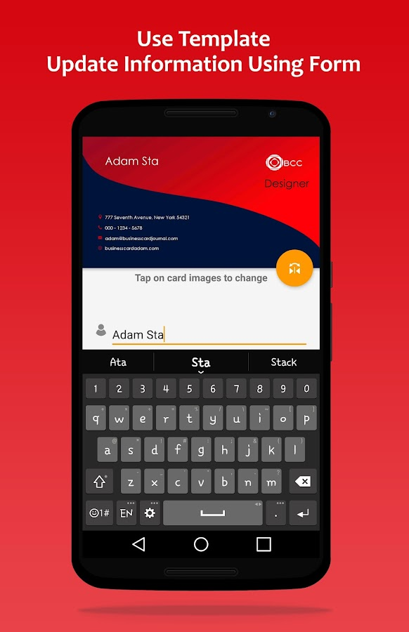 BCC (Business Card Creator) - Android Apps on Google Play