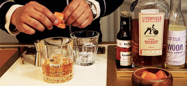 The Bold Fashioned Sense Featuring Litchfield Straight Bourbon
