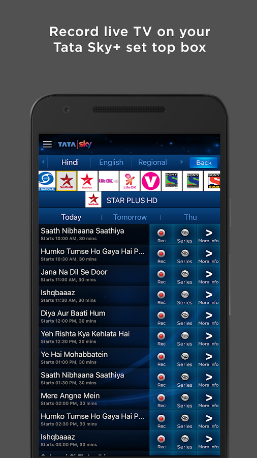 Tata sky mobile android apps on google play - Can you watch sky box office on sky go ...
