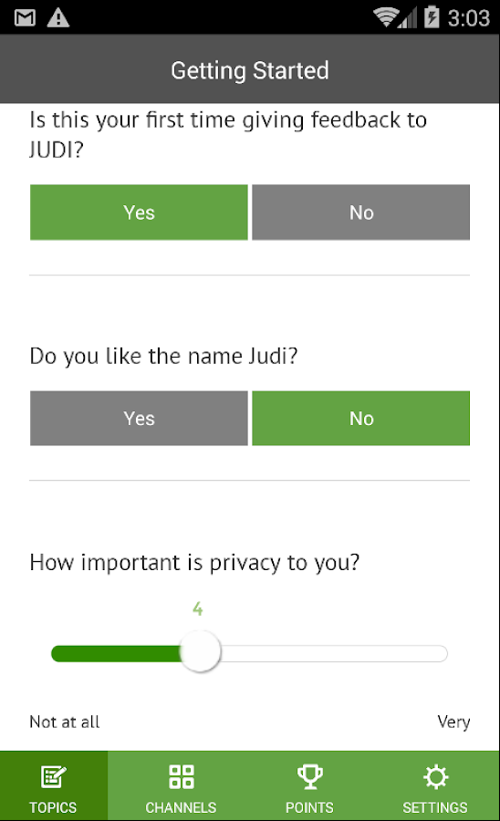 JUDI- screenshot