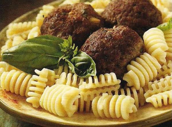 Neapolitan Meatballs Recipe