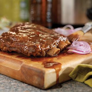 Slow-Cooker Root Beer Ribs Recipe