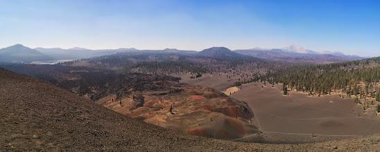 Photo: Atop Cinder Cone, view of Mt. Lassen & Painted Dunes