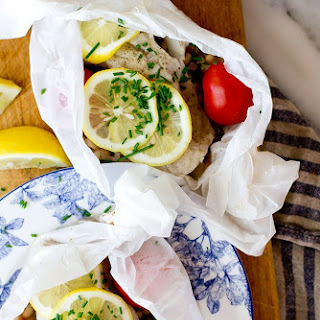 Cod and White Beans en Papillote